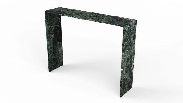 Console en marbre verde alpi st denis