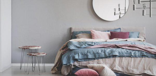 Décoration chambre tons pastels