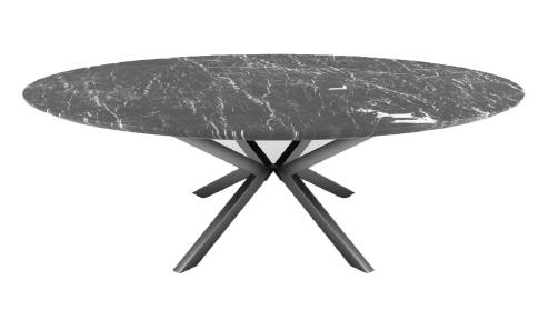 3 idées de meubles en pierre naturelle : table à manger en marbre