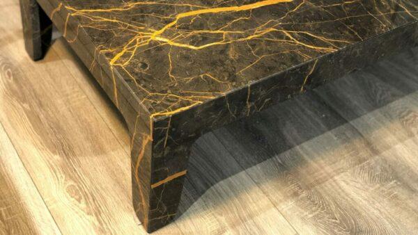 Table basse rectangulaire en marbre Port Laurent