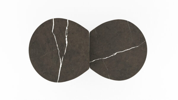 plateaux marbre gris