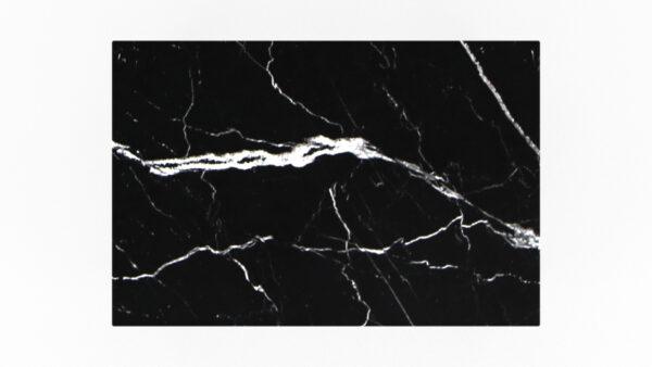 plateau rectangulaire marbre noir
