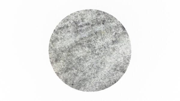 Plateau rond marbre blanc